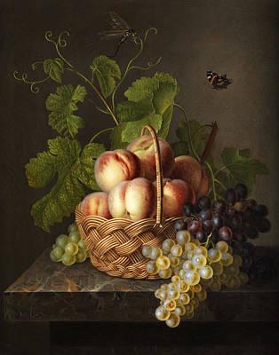 Healthy Eating Painting - Still Life by Gerardus van Spaendonck