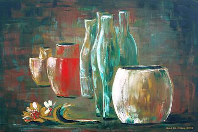 Painting - Still Life by Gina De Gorna