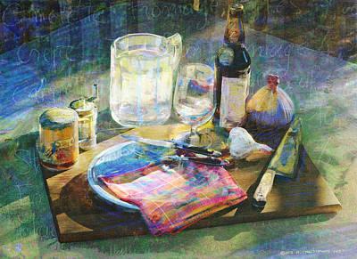 Etc Digital Art - Still Life Gourmet Kitchenware by R christopher Vest