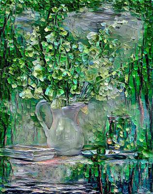 Digital Art - Still Life Green by Yury Malkov
