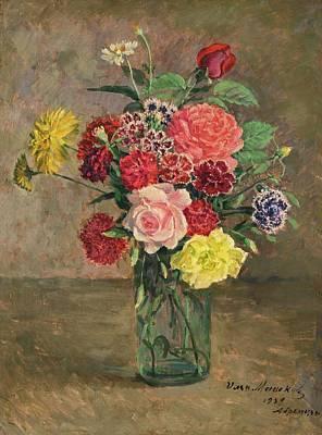 Flowers Painting - Still Life by Ilya Ivanovich