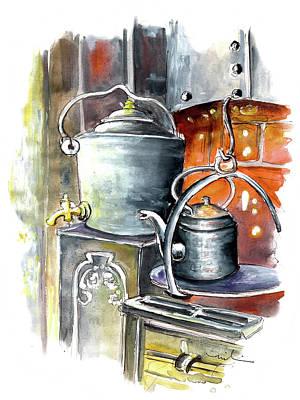 Painting - Still Life In Wensleydale Creamery 01 by Miki De Goodaboom