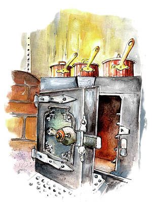 Painting - Still Life In Wensleydale Creamery 02 by Miki De Goodaboom