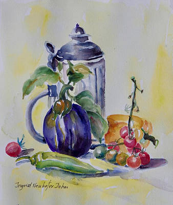 Painting - Still Life by Ingrid Dohm