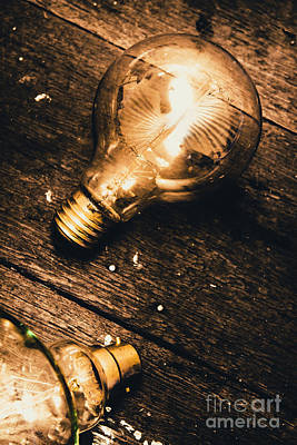 Light Bulb Wall Art - Photograph - Still Life Inspiration by Jorgo Photography - Wall Art Gallery