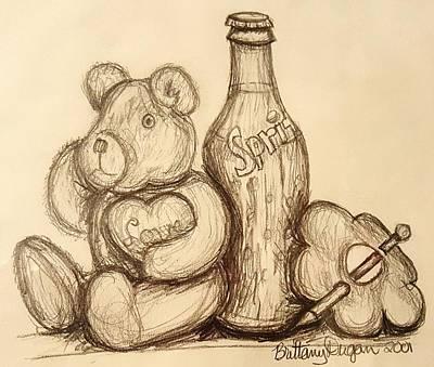 Still Life Drawings - Still Life by Kaara Brockwell