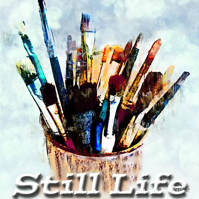 Photograph - Still Life Logo by Debbie Portwood
