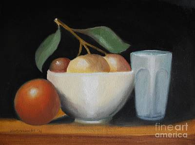 Still Life No-5 Art Print by Kostas Koutsoukanidis
