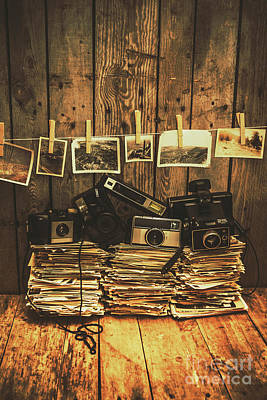Equipment Wall Art - Photograph - Still Life Nostalgia by Jorgo Photography - Wall Art Gallery