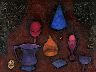 Linear Painting - Still Life by Paul Klee