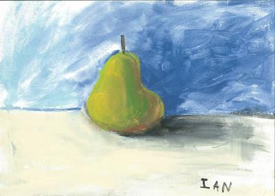 Painting - Still Life-pear by Ian Reynolds