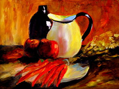 Painting - Still Life by Phil Burton