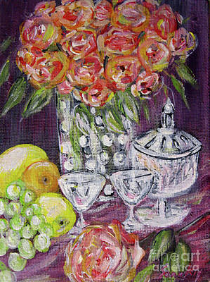 Painting - Still Life. Prosperity by Oksana Semenchenko