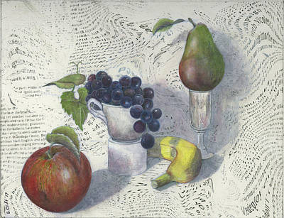 Mixed Media - Still Life by Sandy Clift