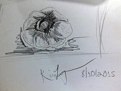 Drawing - Still Life Sketch by Kimmary MacLean