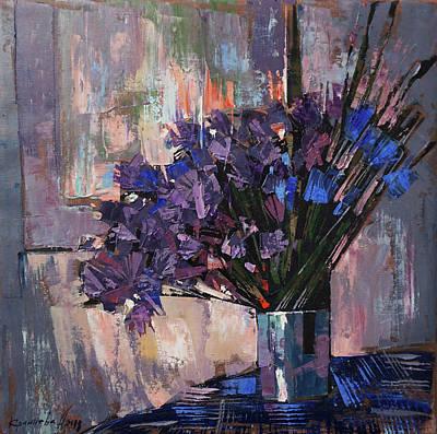 Painting - Still Life. Summer Rain by Anastasija Kraineva