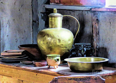Photograph - Still Life Tableware  by Janice Drew