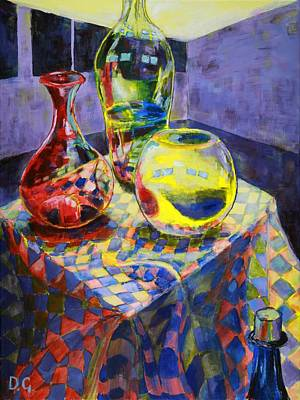 Still Life Transparency Original by Daniel House