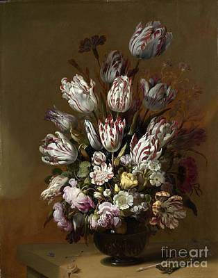 Painting - Still Life With A Gilt Cup by R Muirhead Art