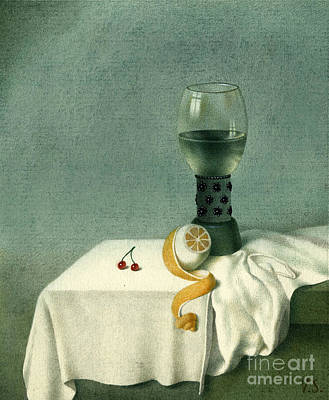 Still Life With A Goblet Art Print