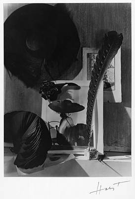 Still Life Photograph - Still Life With A Portrait Of Marquise De by Horst P Horst