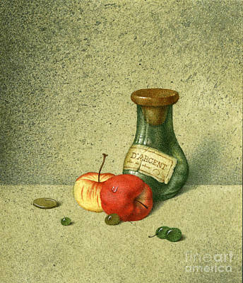 Still Life With A Small Jar Art Print