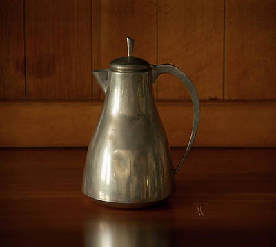 Photograph - Still Life With An Art Deco Teapot by Yvonne Wright