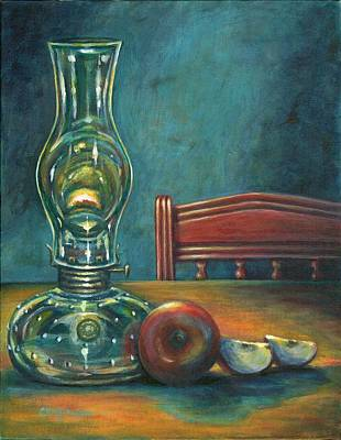 Still Life With Apples Art Print by Colleen  Maas-Pastore