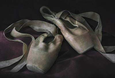 Photograph - Still Life With Ballet Shoes by Jaroslaw Blaminsky