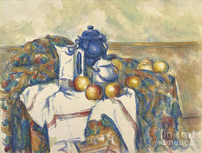 39f72005d9 Painting - Still Life With Blue Pot by Celestial Images