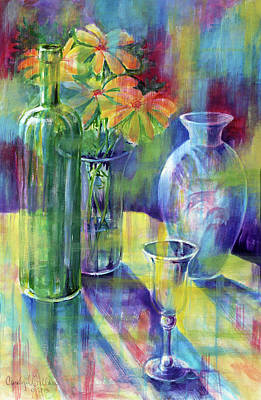 Still Life With Color Art Print