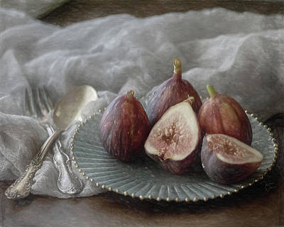 Photograph - Still Life With Figs by Teresa Wilson