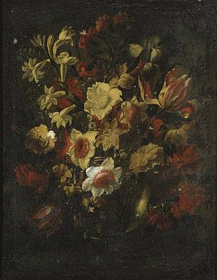 Painting - Still Life With Flowers by Celestial Images