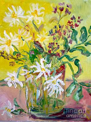 Painting - Still Life With Flowers by Paul Galante
