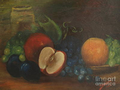 Painting - Still Life With Fruit - 1920, By Bertha L. Sullivan by Paul Galante
