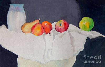 Still Life With Fruit Original by Sharon Nelson-Bianco
