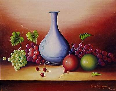 Painting - Still Life With Jug by Gene Gregory