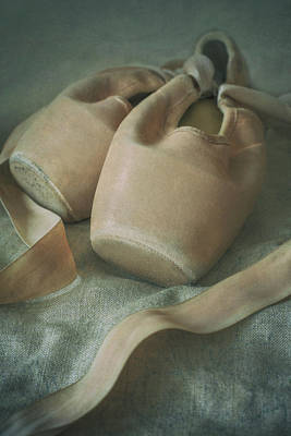 Photograph - Still Life With Old Ballet Shoes by Jaroslaw Blaminsky