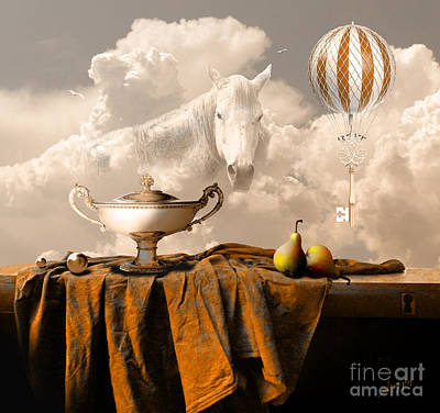 Digital Art - Still Life With Pears by Alexa Szlavics