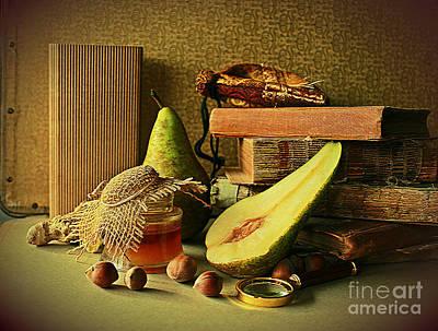 Photograph - Still Life With Pears by Binka Kirova