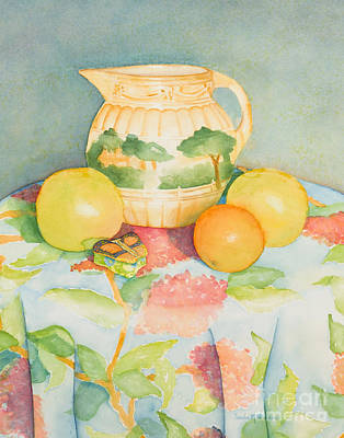 Painting - Still Life With Pitcher by Sandra Neumann Wilderman