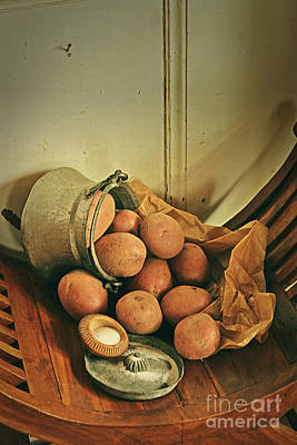 Photograph - Still Life With Potatoes by Binka Kirova