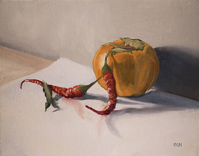 Painting - Still Life With Produce by Break The Silhouette