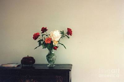 Photograph - Still Life With Roses by Nancy Kane Chapman