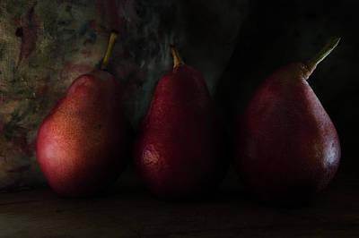 Photograph - Still Lives Of Pears by Rae Ann  M Garrett
