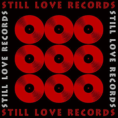 Burnt Digital Art - Still Love Records by Tommytechno Sweden