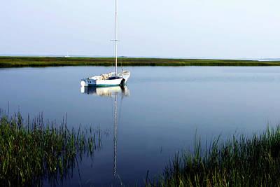 Marsh Photograph - Still Morning 1 by Alan Hausenflock