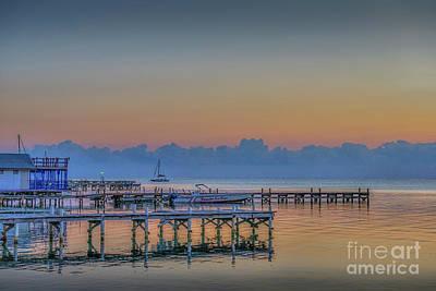 Photograph - Still Morning Sunrise by David Zanzinger