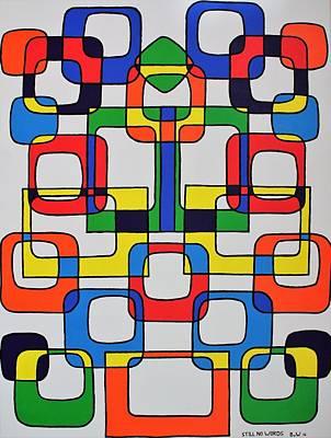 Nederland Painting - Still No Words by Barend Van Wieringen