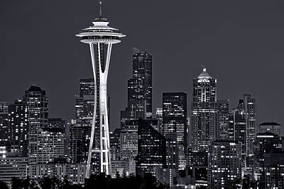 Seattle Photograph - Still Of The Night by Dan Mihai